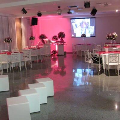 Aluguel de espaço para festa debutante em Guarulhos
